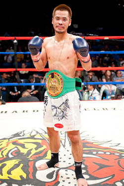 First WBC Muaythai Japanese Champion